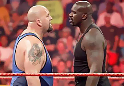Video: Shaq and The Big Show Continue to Dish The Beef | BlackSportsOnline