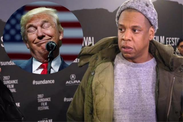 Video: Jay Z Avoids Donald Trump Questions at Sundance Film