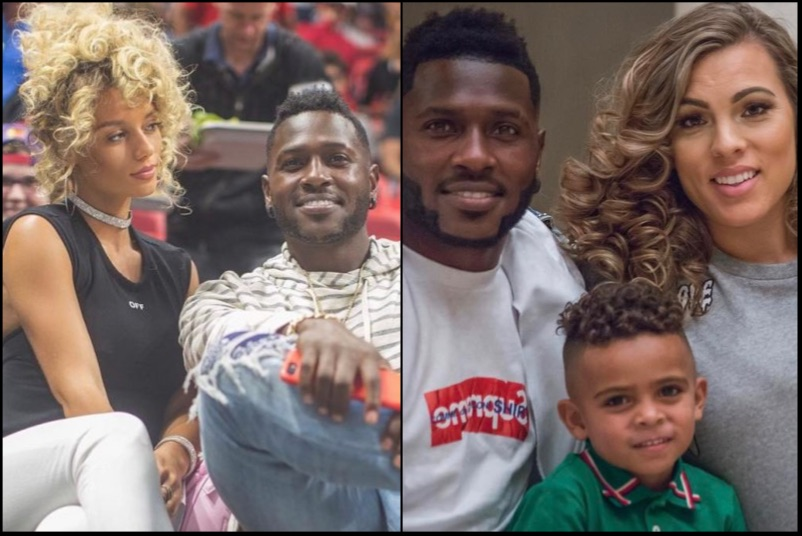 Antonio Brown Leaves Jena Frumes To Get Back With Baby Mama Chelsie Kyriss Blacksportsonline
