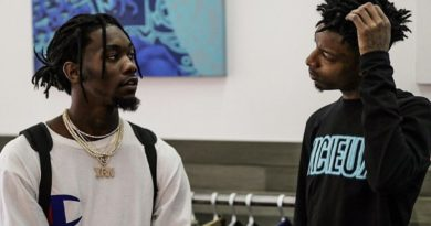 """Watch 21 Savage During a Performance Have the Whole Crowd Chant """"Cardi Take Offset Back"""" After Offset's IG Apology (Video)"""