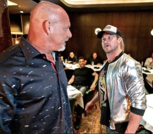 Watch Goldberg and Dolph Ziggler Get in a Little Dust Up in Vegas; How a Adult Star May Be Responsible For The Altercation They Had (Video)