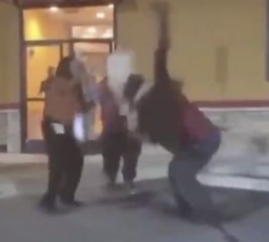 Update on Elderly Woman's Condition After She Was Jackknifed Powerbombed Outside of Popeyes; Name That State (Video)
