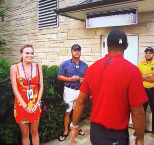 Video: Brooks Koepka's GF Jena Sims Why She Was Starstruck When She Met Tiger Woods